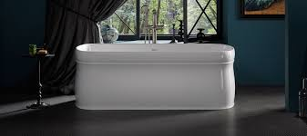 freestanding bath tub. centerpiece of the bathroom freestanding bath tub