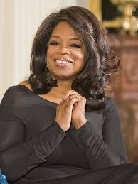 oprah returns to broadcast tv on minutes  oprah smiling