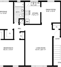 Small Picture House Plans 7 Simple House 2 Bedroom House Plans Simple House