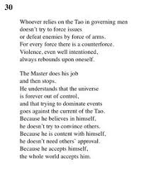 image result for lao tzu tao te ching quotes tao  30 tao te ching lao tse lao tzu