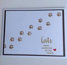Sympathy Card Pet Loss Pet Sympathy Card Pet Loss Card Cat Sympathy Card Handmade Card