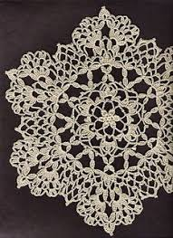 Thread Crochet Patterns Simple Exquisite Flower Doily Free Crochet Pattern In Aunt Lydia's Crochet