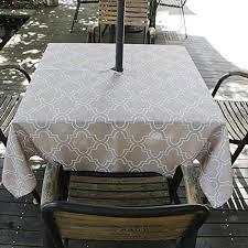 table covers umbrella outdoor patio