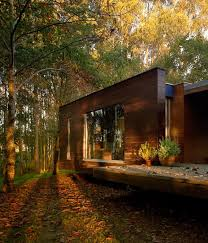 levitating modern house deep in the forest freshome com