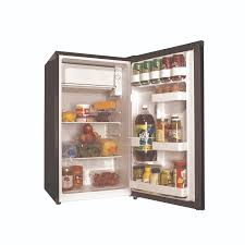 tiny refrigerator office. 3.3 Cu Ft Compact Refrigerator Black Haier Mini Fridge Office Dorm Game Room Tiny C