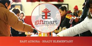 Giftmart at Brady Elementary, Aurora 2019 Sponsored by Community 4:12 Daily  Herald Calendar
