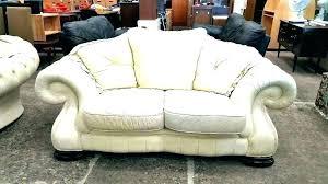 cream colored leather sofa used leather furniture cream leather couch cream colored leather sofa large size