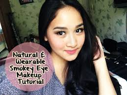 natural wearable smokey eye makeup tutorial indonesia cara makeup smokey eye you