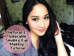 natural wearable smokey eye makeup tutorial indonesia cara makeup smokey eye you