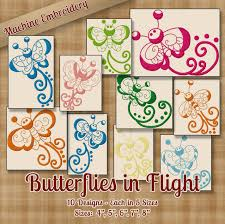 Redwork Machine Embroidery Designs Free Butterflies In Flight Redwork Embroidery Machine Designs On Cd 10 Outline Style Designs 5 Sizes Each Art Pes Jef Exp Vip Hus Dst Vp3