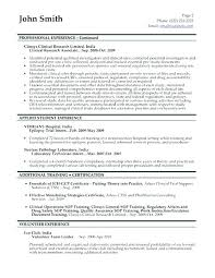 Cover Letter Clinical Research Associate Research Associate Resume ...