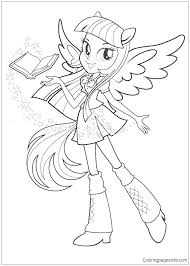 613x857 pinkie pie equestria girl colouring pages girls coloring book my