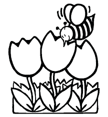 Coloring Pages Of Spring Flowers Spring Coloring Pages Flowers And