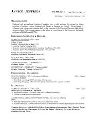 High School Resume For College Template Resume Letter Collection