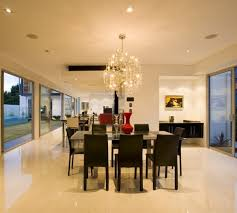 large dining room chandeliers. Modern Large Dining Room Chandeliers With Glass Table