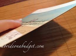 our save the date cards a bride on a budget save the dates