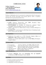 Best Resume Curriculum Vitae Best Resume Examples