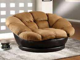 Oversized Lounge Chair As Functional and Comfy Seater Round chair