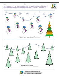 Christmas Maths Worksheetskindergarten christmas math worksheets counting 1. Kindergarten Christmas Counting 1 ...