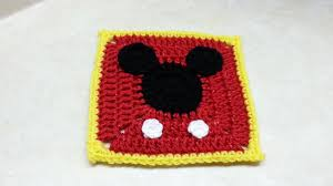 Mickey Mouse Crochet Pattern Free New Design