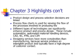 Product Design And Process Selection Online Presentation