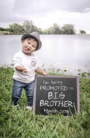 Big Brother New Baby Second Baby Announcement Big Brother