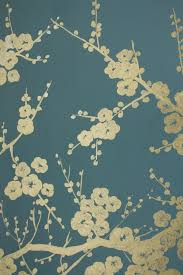 Teal Bedroom Wallpaper Gold Painted Mural On Chalky Teal Wall Note To Self Use White