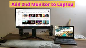 How to Connect a Second Monitor to Your Laptop - YouTube