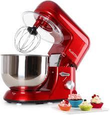 Klarstein Máy Trộn Thực Phẩm 5,2 L 1200W Tốc Độ 6 Bát Thép Không Gỉ Máy  Đánh Trứng Máy Xay Sinh Tố Bột Trộn Máy Làm Máy nấu Ăn Nhà Bếp Dụng