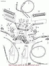 Handle parts list