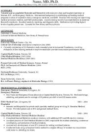 Residency Cover Letter Ideas Collection Internal Resume Examples