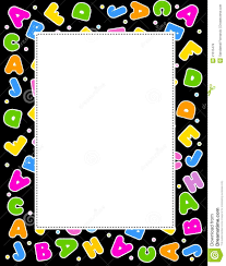 Preschool Page Borders Letter Clip Freeuse Library Abc Border Rr Collections
