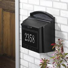 Custom wall mount mailbox Nautical Whitehall Wall Mount Mailbox With Customized Address Plaque Prime Mailboxes Whitehall Products Personalized Wall Mounted Mailbox With Custom