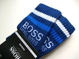 Мужские <b>носки</b> 1 Paar Original Hugo <b>Boss</b> Navy <b>Stripe</b> Rib Crew ...