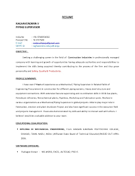 Supervisor Resume Skills Extraordinary PIPING SUPERVISOR RESUME