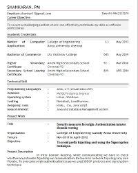 Resume Templates For Freshers Best of Resume Template For Fresher Rioferdinandsco
