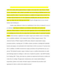 assignment compare and contrast essay inner beauty versus  background image of page 2