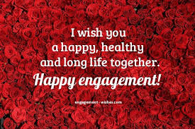 Engagement Wishes 40 Engagement Quotes And Card Messages Impressive One Year Complete Engagement Status Hubby