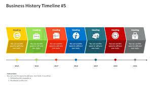 Timeline Presentation Template – Lrnsprk