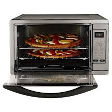 oster convection oven toaster oster extra large capacity countertop 6 slice digital convection toaster oven stainless steel tssttvdgxl shp