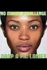 no makeup challenge