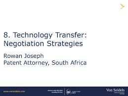 8 Technology Transfer Negotiation Strategies