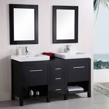 Dark Bathroom Cabinets 3alhkecom Modern Floating Bathroom Vanities And Sinks Beside