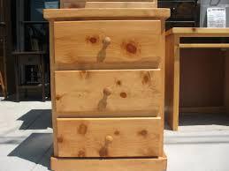 honey pine nightstand. Exellent Honey Painted White  Pine Nightstand 3 Drawer  Honey Stained  To I