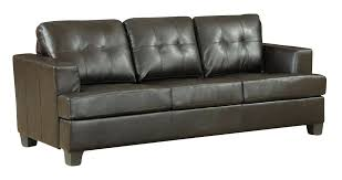 lola bonded leather sofa bed couch ling furniture repair kit acme diamond sleeper in brown winsome