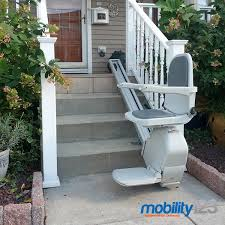 outdoor stair lifts weather proof installs in new jersey nj pa mobility123 mobility123 com