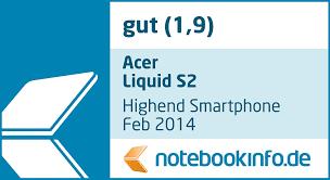 Acer Liquid S2 Smartphone (15,2 cm IPS ...