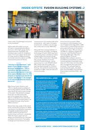 Fusion Designs Uk Offsite Magazine Issue 10 March April By Radar