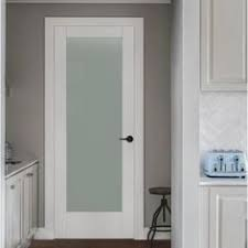 interior frosted glass door. Contemporary Door MODA Primed PMT1011 Solid Core Wood Interior Door Slab WTranslucent Glass With Frosted