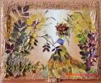 Картины из осенних листьев своими рукам